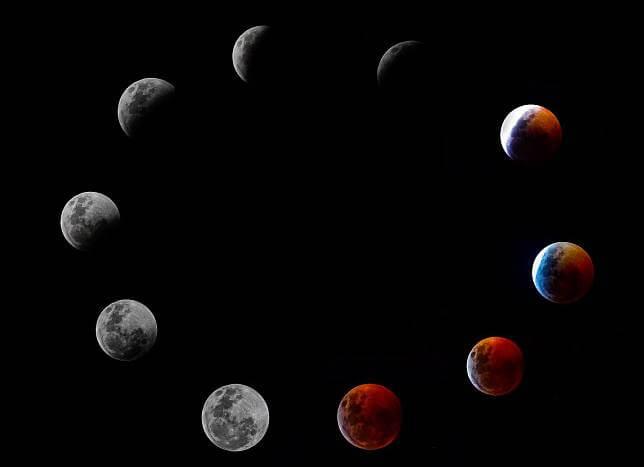 จันทร์หลายดวง
